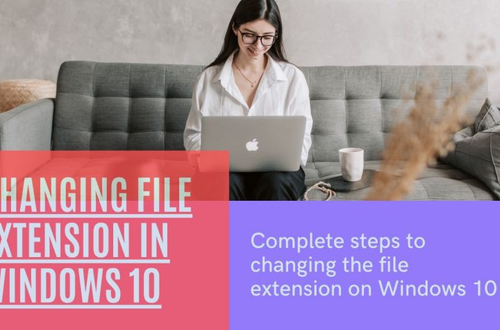Changing File Extension in Windows 10