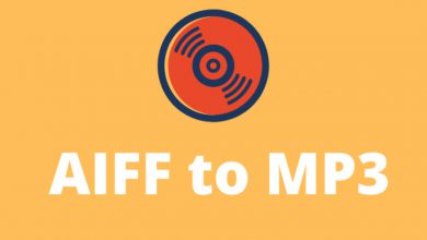 Convert from AIFF to MP3