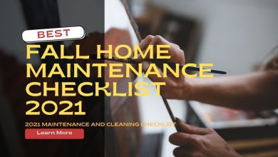 Your 2021 Fall Home Maintenance And Cleaning Checklist