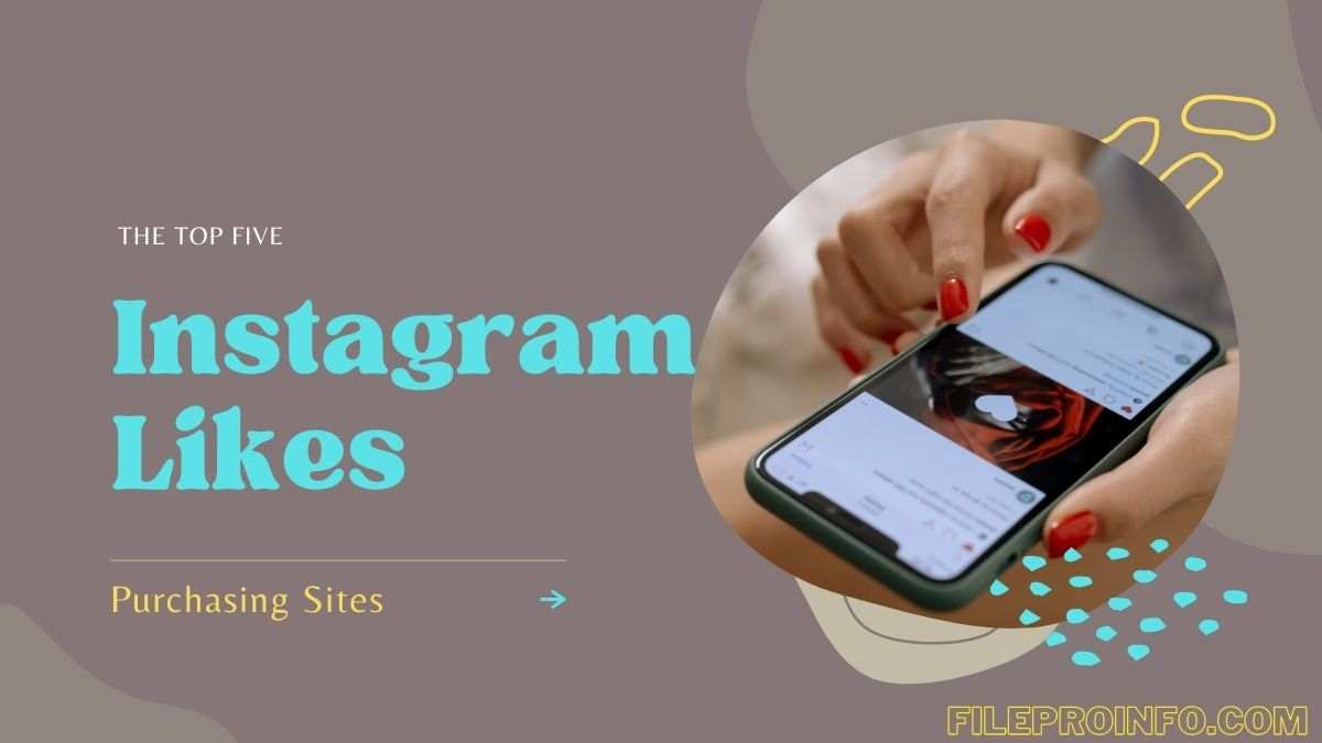 """The top 5 Instagram """" like """" Purchasing Sites"""