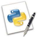 Python Software Foundation logo image - FileProInfo.com
